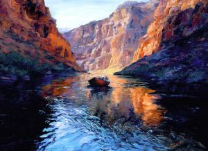 c58-Dory Boat at the Grand Canyon by Mary Lois Brown.jpg